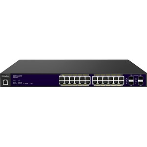 Egs7228fp 24 Port Gigabit Poe + L2 Managed Switch W/4 Dual Sfp / Mfr. No.: Egs7228fp