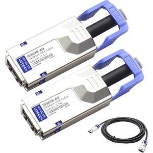 AddOn HP JD363B Compatible 10GBase-CX CX4 to CX4 Direct Attach Cable (Passive Twinax, 0.5m)