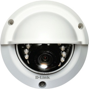 Hd Outdoor Fixed Dome Camera W/ Color Night Vision / Mfr. No.: Dcs-6315