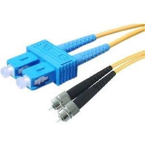 APC Cables 2m FC to SC 9/125 SM Dplx PVC