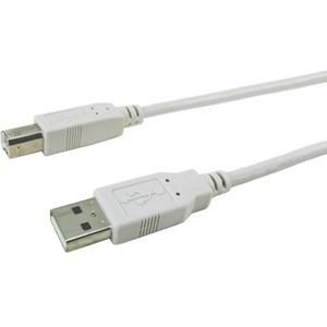 APC Cables 10ft USB1.1 USBA/USBB Frost White