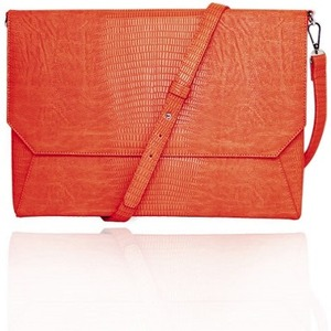 Lenox Orange Sleeve With Shoulder Strap Sleeve 11in Lapt / Mfr. No.: Ffs11orlizardenvss