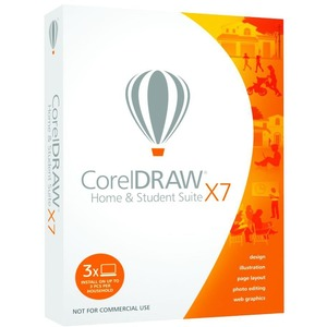 Acad Coreldraw Home and Student Suite X7 / Mfr. No.: Cdhsx7enmbam