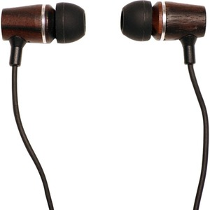 Jivo Elements Premium Rosewood Earbuds In Wood