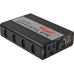 Power Inverter 200w 2out USB Port Plugs Into 12v / Mfr. No.: Xp200i