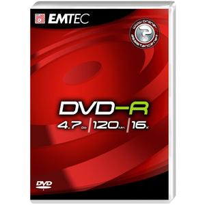 DVD-R Emtec 4.7GB - 120 Min - 16x - 360517NEW
