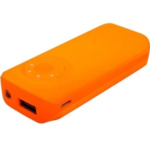 Emergency Battery 5600mah Orange USB 2 1 A Port and Light / Mfr. No.: Bat53uf