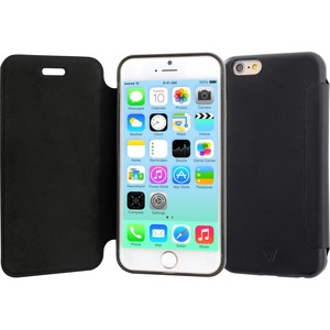 Folio Flip Case Black 4.7in Antislip Back Bumper Prot Iphon / Mfr. No.: Pa20fo-Black-47-14n
