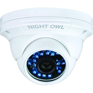 900tvl Security Domecam W/Audio 100ft Night Vision Hi-Res / Mfr. No.: Cam-Dm924a