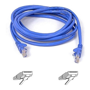 6ft Cat5 Patch Cable Blue Molded ROHS / Mfr. No.: A3l791-06-Blu-M