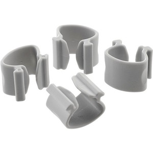 4pk Systema Silver Cable Clips / Mfr. No.: Sc4s