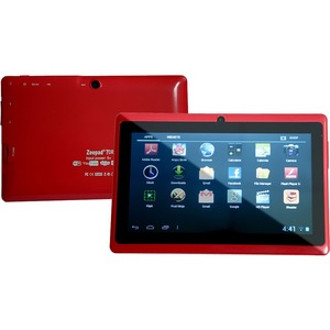 Zeepad 7drk-Rock 7in 1gb/8gb Android 4.2 Bluetooth Dc Red / Mfr. No.: 7drk-Rock-Red