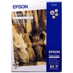 Papier Epson Mat - Epais - A4 - 167g/m2 50 Feuilles - pour Stylus Pro 11880/3880/4880/7900 - S041256