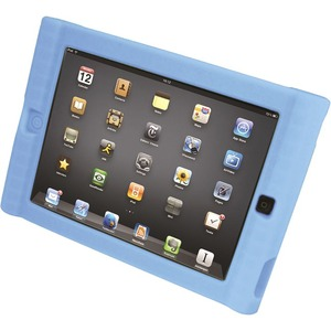 Silicon Protective Carry Case For IPad 3 Blue Via Ergoguys / Mfr. No.: Isd-Blu