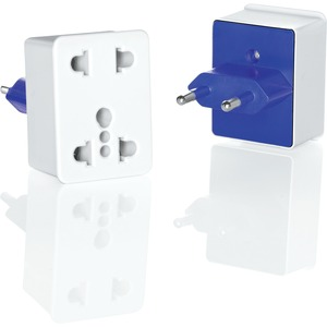 Dual Outlet Adapter Plug So Europe Middle East / Mfr. No.: Nwd1