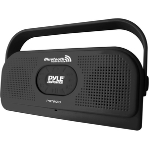 Surf Sound Party Waterproof Wireless Bluetooth Stereo Speaker W/ Mic Black / Mfr. No.: Pbtw20bk