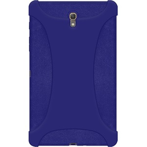 Silicone Skin Blue Jelly Case For Samsung Galaxy Tab S 8.4 / Mfr. No.: Amz97224