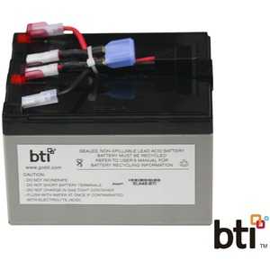 Rbc48 Replacement Ups Battery Apc Sua750 Sua750us Sua750i / Mfr. No.: Rbc48-Sla48-Bti