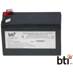 Rbc17 Replacement Ups Battery Apc Be650bb Be650r Be725bb Be75 / Mfr. No.: Rbc17-Sla17-Bti