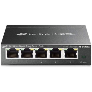 5port Gigabit Easy Smart Swtch / Mfr. Item No.: Tl-Sg105e