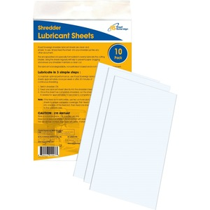 Royal Sovereign Shredder Lubricant Sheets
