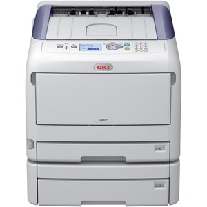 C831dn-TAA Small Workgroup A3 35PPM Color-Mono 20PPM Tabloid / Mfr. No.: 62444104