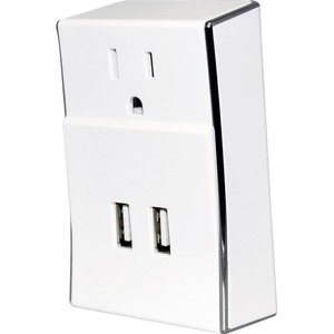 Amzer Dual USB Plate Extender Power Wall Charger / Mfr. No.: Amz97320