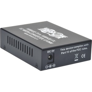 Sc Single Mode Media Converter 10/100 RJ45/Sc / Mfr. No.: N784-001-Sc-15