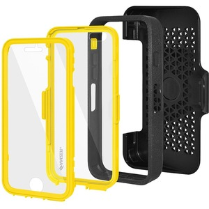 Crusta Black On Yellow Rugged Case Shell Tempered Glass Iphon / Mfr. No.: Amz300176