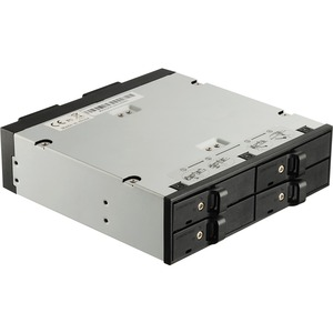 Enermax 5.25in Bay HDD Mobile Rack Fit In 4x2.5 Drivers Sup R / Mfr. No.: Emk5402