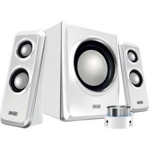 Sweex 2.1 Speaker System Arena White/Silver