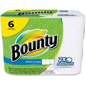 Bounty Select-a-Size Paper Towels 6/pkg
