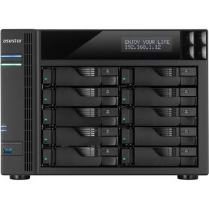 As7010t 10bay NAS Tower Us 2gb Ddr3 / Mfr. No.: As7010t