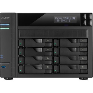 As7008t 8bay NAS Tower Us 2gb Ddr3 / Mfr. No.: As7008t