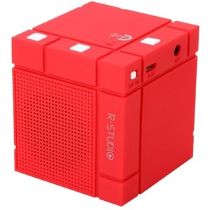 Mini Bluetooth Red Speaker / Mfr. No.: Mini Rubic-Red