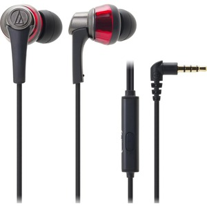 In-Ear Headphone W/ Smartphone Ctrl Red Sonic Pro 13mm / Mfr. No.: Ath-Ckr5isrd