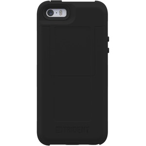 Aegis 2014 Wallet Black Case For IPhone 5s / Mfr. No.: Ag-Apip5s-Bkw00