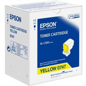 Toner Epson Jaune - 8 800 Pages - S050747