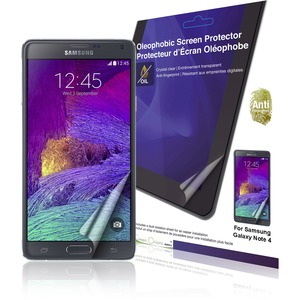 2pk Crystal Oleophobic Screen Protector For Samsung Galaxy No / Mfr. No.: Rt-Spsgn407