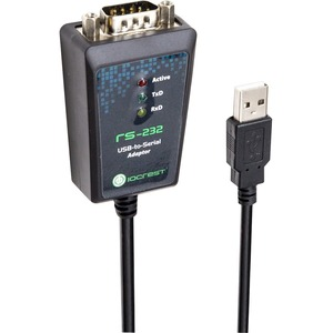 Io Crest USB To Serial Db9 Rs232 Adapter / Mfr. No.: Sy-Ada15044