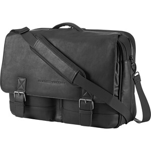 Executive Leather Messenger Fits Up To 15.6in / Mfr. No.: G5b40AA