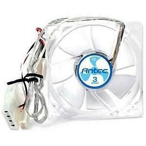 120mm Case Fan W/3 Speed Switch 4-Pin W/ 3-Pin Monitoring / Mfr. No.: Tricool 120mm