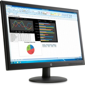 Smart Buy 23.6in LED V241p Monitor No Ds No Returns / Mfr. No.: K0q34a6#Aba