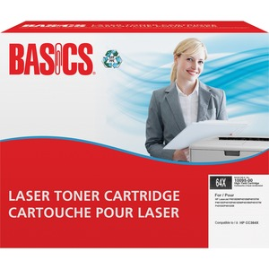 Basics® Laser Cartridge High Yield (HP 64X) Black