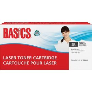 Basics® Laser Cartridge (HP 35A) Black