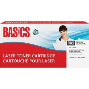 Basics® Laser Cartridge High Yield (Brother® TN460) Black