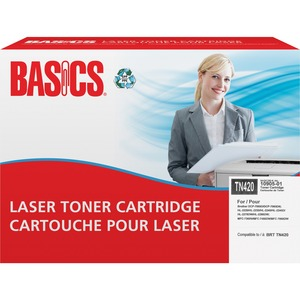 Basics® Laser Cartridge (Brother® TN420) Black