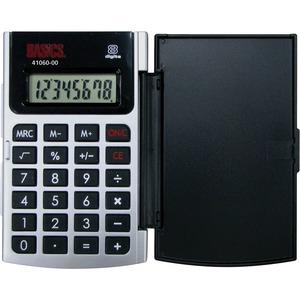 Basics® 8-Digit Hard Case Pocket Calculator