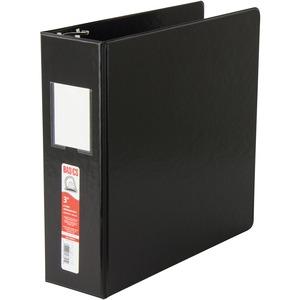"Basics® D-Ring Binder 3"" Black"
