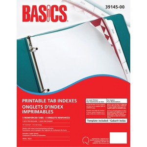 Index Laser 5-Tab 5sets/pk Basics